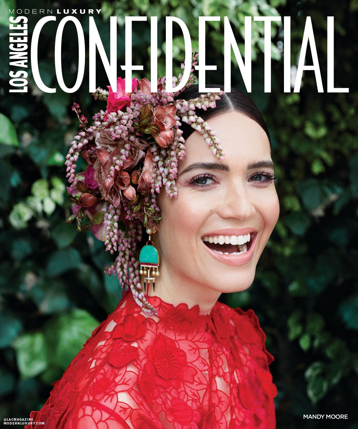Mandy Moore Cover for Confidential Magazine, May-June 2019 3