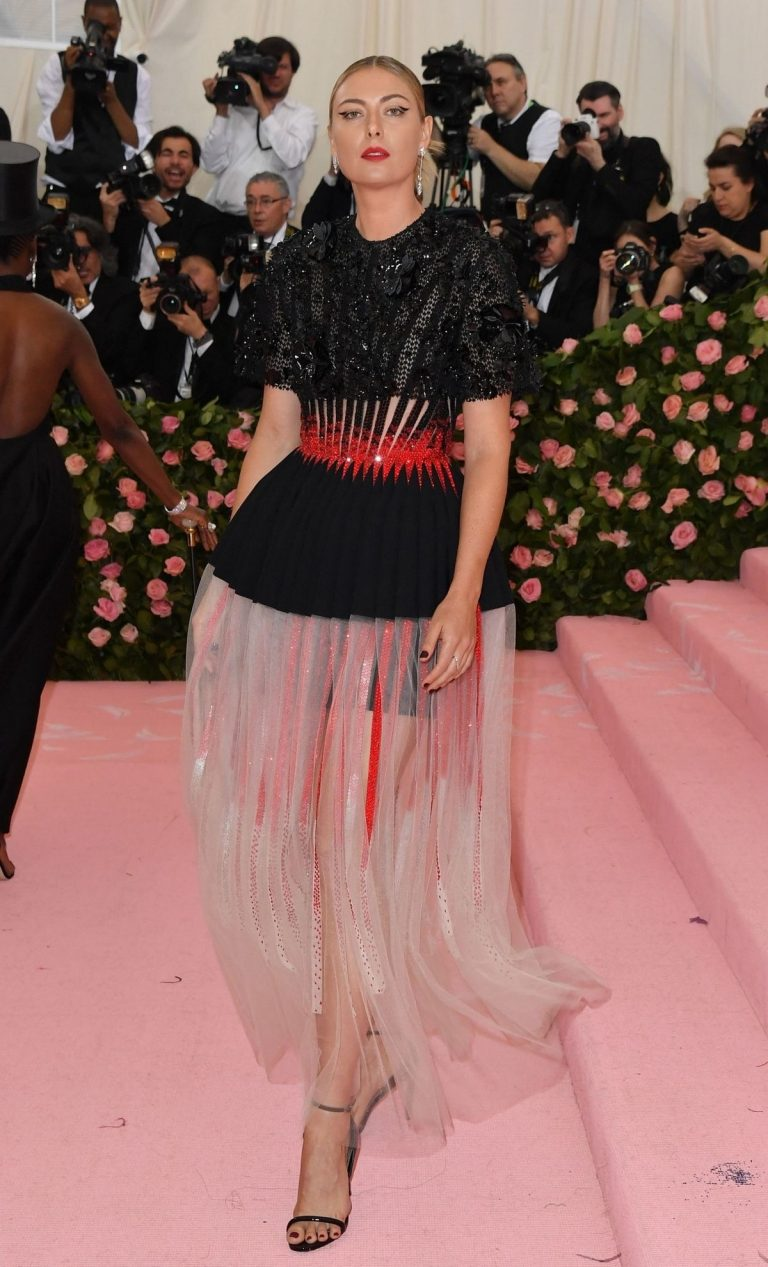 Maria Sharapova at The 2019 Met Gala celebrating Camp: Notes on Fashion in New York 2019/05/06 2