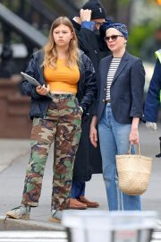 Michelle Williams with her daughter Out in New York 2019/05/06 3