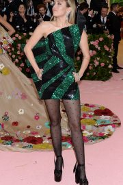 Miley Cyrus at The 2019 Met Gala Celebrating Camp: Notes on Fashion in New York 2019/05/06 3