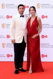 Pregnant Amy Jackson with Her Husband George Panayiotou at 2019 BAFTA Awards in London 2019/05/12 3