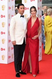 Pregnant Amy Jackson with Her Husband George Panayiotou at 2019 BAFTA Awards in London 2019/05/12 4