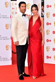 Pregnant Amy Jackson with Her Husband George Panayiotou at 2019 BAFTA Awards in London 2019/05/12 5