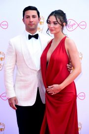 Pregnant Amy Jackson with Her Husband George Panayiotou at 2019 BAFTA Awards in London 2019/05/12 6