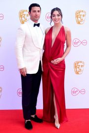 Pregnant Amy Jackson with Her Husband George Panayiotou at 2019 BAFTA Awards in London 2019/05/12 7