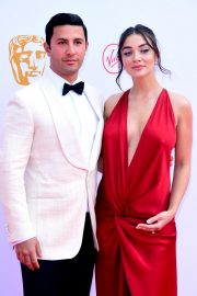 Pregnant Amy Jackson with Her Husband George Panayiotou at 2019 BAFTA Awards in London 2019/05/12 8