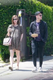 Pregnant Kate Mara Out with Her Hubby in Los Feliz 2019/05/04 3