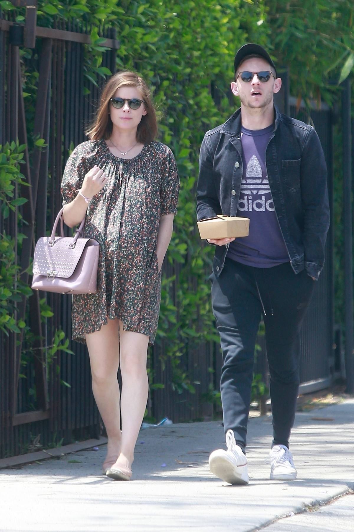 Pregnant Kate Mara Out with Her Hubby in Los Feliz 2019/05/04 6
