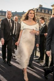 Pregnant Keira Knightley Attends the CHANEL J12 Cocktail on Place Vendome in Paris 2019/05/02 1