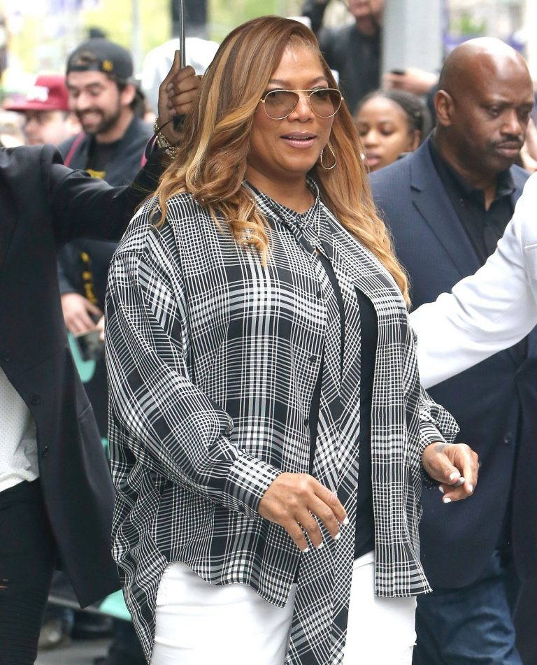 Queen Latifah at the BUILD Series in New York 2019/04/25 8