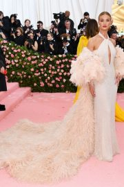 Rosie Huntington-Whiteley at The 2019 Met Gala Celebrating 'Camp: Notes on Fashion' in New York 2019/05/06 6