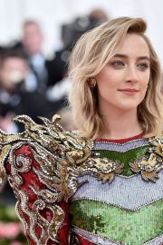 Saoirse Ronan at The 2019 Met Gala Celebrating Camp: Notes on Fashion in New York 2019/05/06 2