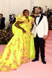 Serena Williams at The 2019 Met Gala celebrating Camp: Notes on Fashion in New York 2019/05/06 3