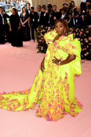 Serena Williams at The 2019 Met Gala celebrating Camp: Notes on Fashion in New York 2019/05/06 5