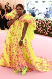 Serena Williams at The 2019 Met Gala celebrating Camp: Notes on Fashion in New York 2019/05/06 7