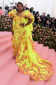 Serena Williams at The 2019 Met Gala celebrating Camp: Notes on Fashion in New York 2019/05/06 8