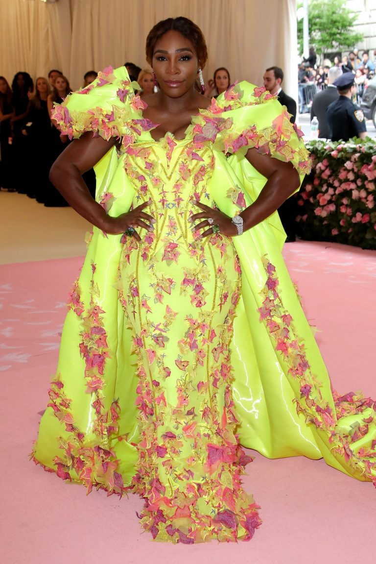 Serena Williams at The 2019 Met Gala celebrating Camp: Notes on Fashion in New York 2019/05/06 9