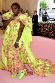 Serena Williams at The 2019 Met Gala celebrating Camp: Notes on Fashion in New York 2019/05/06 10