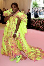 Serena Williams at The 2019 Met Gala celebrating Camp: Notes on Fashion in New York 2019/05/06 12