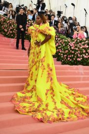 Serena Williams at The 2019 Met Gala celebrating Camp: Notes on Fashion in New York 2019/05/06 20