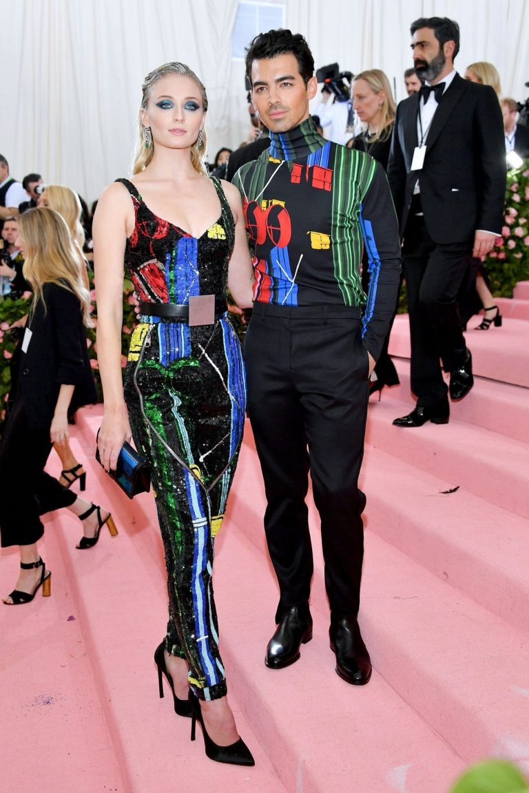 Sophie Turner and Joe Jonas at The 2019 Met Gala Celebrating 'Camp: Notes on Fashion' in New York 2019/05/06 1