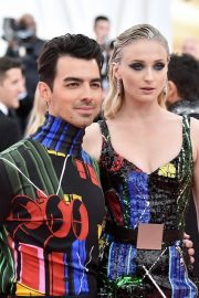 Sophie Turner and Joe Jonas at The 2019 Met Gala Celebrating 'Camp: Notes on Fashion' in New York 2019/05/06 2