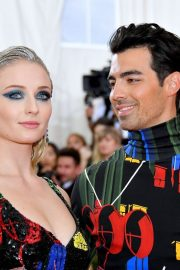 Sophie Turner and Joe Jonas at The 2019 Met Gala Celebrating 'Camp: Notes on Fashion' in New York 2019/05/06 6