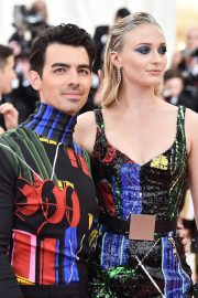 Sophie Turner and Joe Jonas at The 2019 Met Gala Celebrating 'Camp: Notes on Fashion' in New York 2019/05/06 8