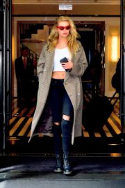 Stella Maxwell Leaves The Mark Hotel in New York 2019/05/04 1