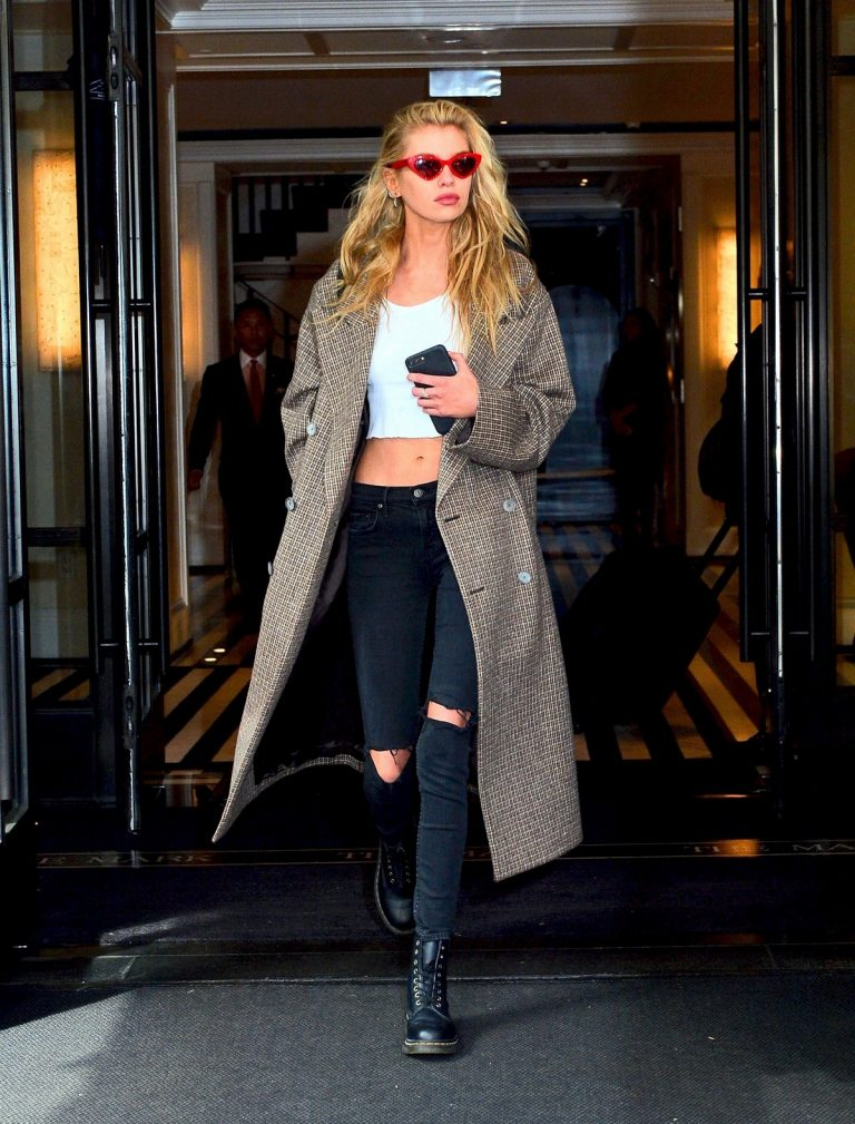 Stella Maxwell Leaves The Mark Hotel in New York 2019/05/04 2