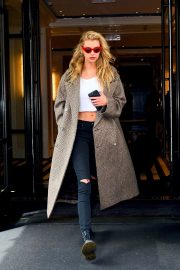 Stella Maxwell Leaves The Mark Hotel in New York 2019/05/04 5