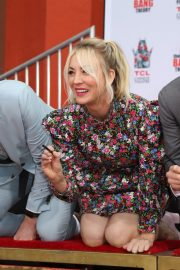 """The Big Bang Theory Cast """"Handprint Ceremony""""  at Chinese Theatre in Los Angeles 2019/05/01 20"""