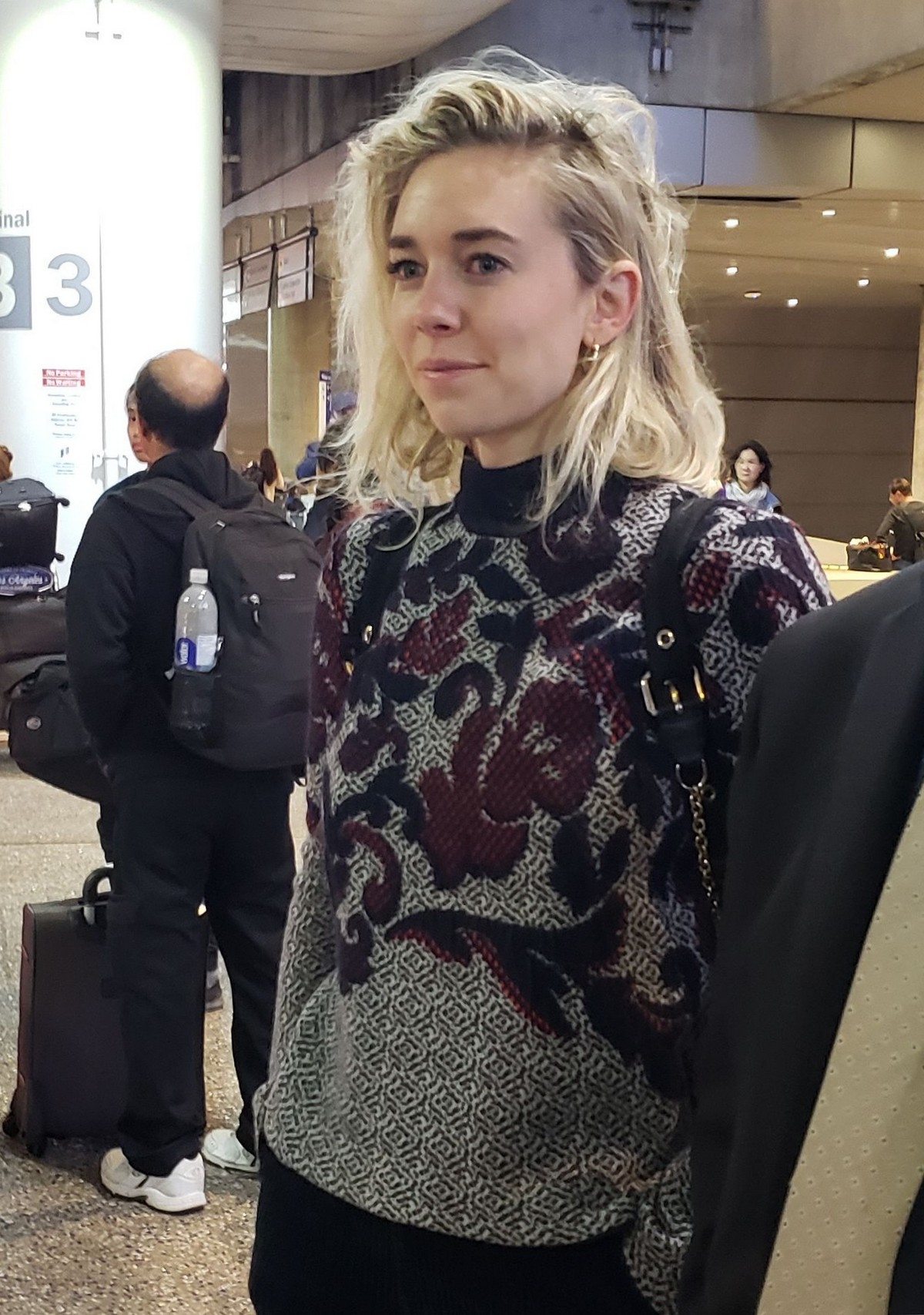 Vanessa Kirby Seen at LAX Airport in Los Angeles 2019/05/06 1
