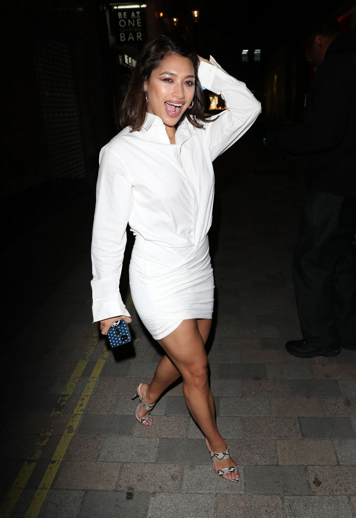 Vanessa White at Jourdan Dunn X Maybelline Party in London 2019/04/30 6