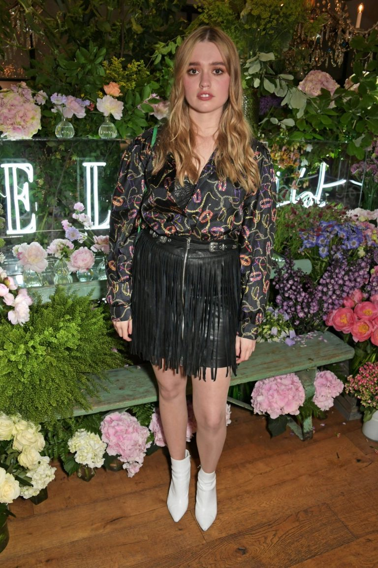 Aimee Lou Wood Celebrates The ELLE List in association in London 2019/06/19 1