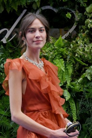 Alexa Chung attends the Chopard Bond Street Boutique Reopening in London 2019/06/17 1