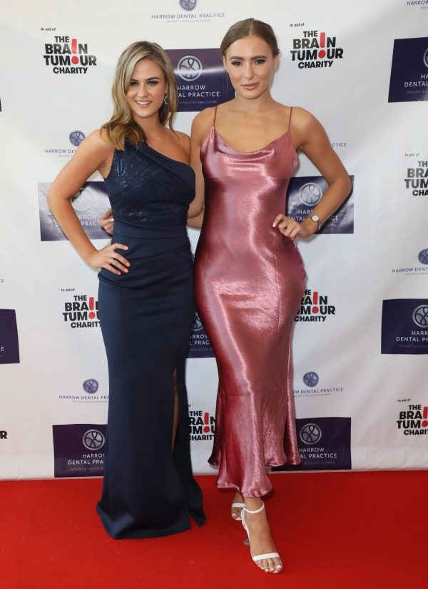 Alicia Oates and Georgie Clarke attends Harrow Dental Brain Tumour Charity Gala in London 2019/06/22 3