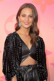 Alicia Vikander arrives Louis Vuitton x Cocktail Party in Los Angeles 2019/06/27 1