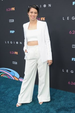 Amber Midthunder at Premiere of Legion Season 3 in Hollywood 2019/06/13 7