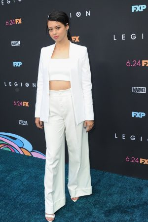 Amber Midthunder at Premiere of Legion Season 3 in Hollywood 2019/06/13 9
