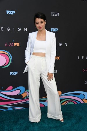 Amber Midthunder at Premiere of Legion Season 3 in Hollywood 2019/06/13 14