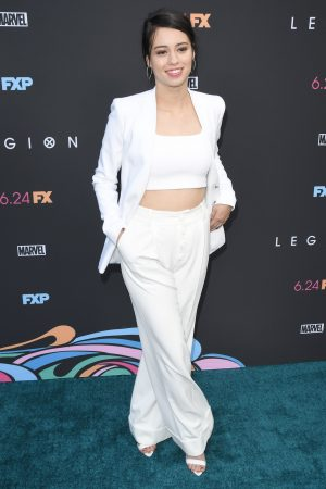 Amber Midthunder at Premiere of Legion Season 3 in Hollywood 2019/06/13 16
