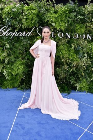 Araya Hargate attends Chopard Bond Street Boutique Reopening in London 2019/06/17 3