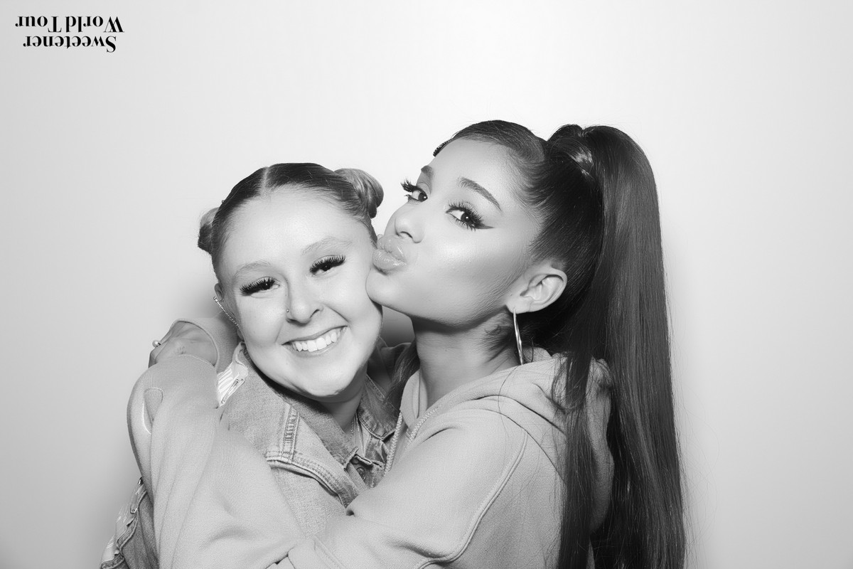 Ariana Grande attends Sweetener World Tour Meet & Greet in Brooklyn 2019/06/15 10