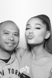 Ariana Grande attends Sweetener World Tour Meet & Greet in New York 2019/06/19 4