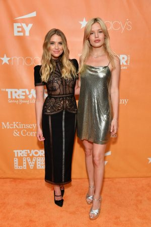 Ashley Benson and Georgia May Jagger attends TrevorLIVE Gala 2019 in New York 2019/06/17 2