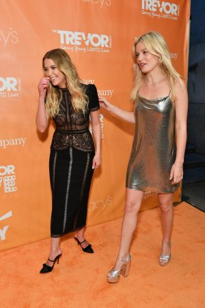 Ashley Benson and Georgia May Jagger attends TrevorLIVE Gala 2019 in New York 2019/06/17 4