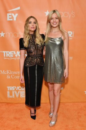 Ashley Benson and Georgia May Jagger attends TrevorLIVE Gala 2019 in New York 2019/06/17 6