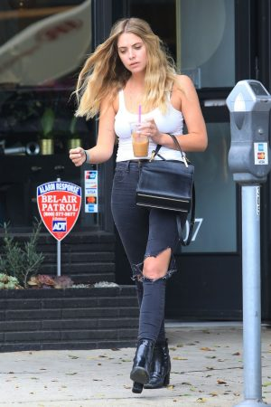 Ashley Benson Out of Hair Salon in Beverly Hills 2019/06/13 9