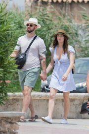 Ashley Greene with Her Husband Enjoys a Day Out in Ibiza 2019/06/24 2